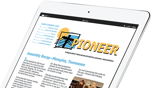 Subscribe to the Pioneer Magazine!